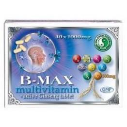 Dr. Chen B-Max multivitamin+aktív Ginseng tabletta   40db