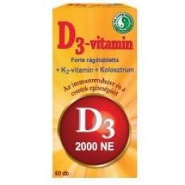 Dr. Chen D3-vitamin forte rágótabletta   60db