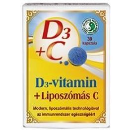 Dr. Chen D3-vitamin + Liposzómás C-vitamin kapszula 30db