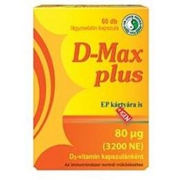 Dr. Chen D-Max Plus D3-vitamin kapszula  60db