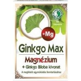 Dr.Chen Ginkgo Max kapszula Magnéziummal   60db