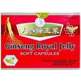Dr.Chen Ginseng Royal Jelly lágyzselatin kapszula  30 db