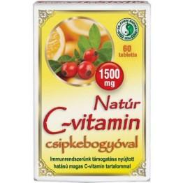 Dr.Chen Natúr C-vitamin 1500 mg csipkebogyóval  60db
