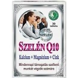 Dr. Chen Szelén Q10 Kalcium + Magnézium + Cink tabletta   30db