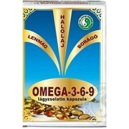 Dr.Chen  Omega 3-6-9 lágyzselatin kapszula  30db