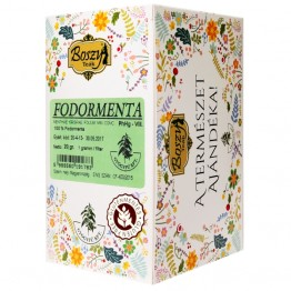 BOSZY Fodormenta filteres tea 20db/doboz