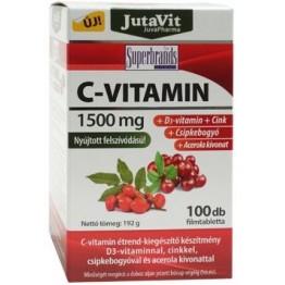 Jutavit c-vitamin 1500 mg tabletta 100db