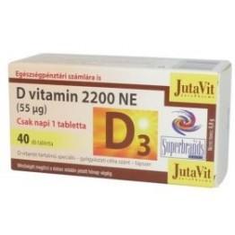 Jutavit D3-vitamin 2200NE tabletta 40db
