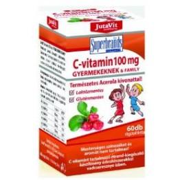 Jutavit C-vitamin 100mg rágótabletta gyerekeknek  60db