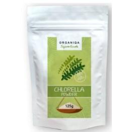 Organiqa bio nyers chlorella por 125g
