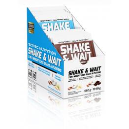 Shake & Wait  2 az 1-ben testsúlycsökkentő shake és puding  550g - 55 g x 10 adag